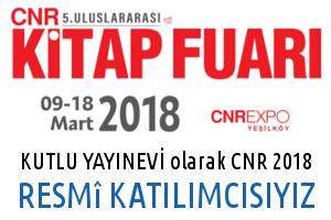 CNR 2018 Katılımcısı Kutlu Yayınevi